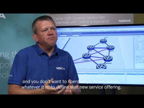 Achieving dynamic service operations using Carrier SDN w/ the Nokia NSP [English subtitles]