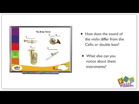 Instrument Sounds for Music Classes