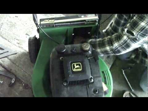 Fixing the John Deere JX85 Commercial walk behind lawnm