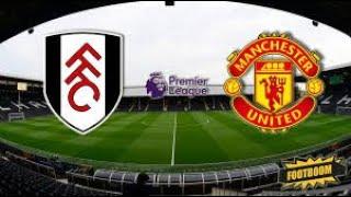 видео: Фулхем-Манчестер Юнайтед. АПЛ.
