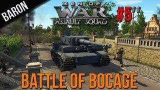 Men of War Assault Squad Gameplay - The Battle of Bocage