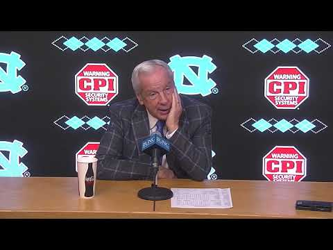 UNC Men's Basketball: Roy Williams Post Davidson Press Conference