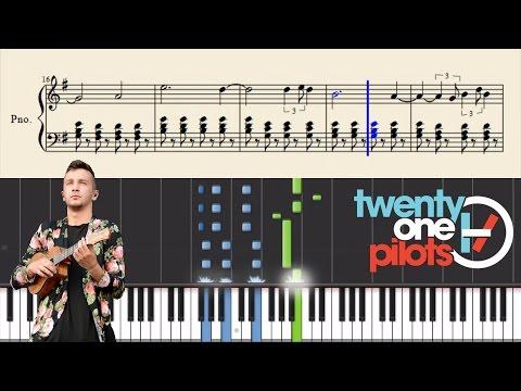 twenty one pilots: Slowtown  Piano Tutorial + Sheets