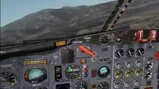 FS2004 Samos Visual Approach RWY09