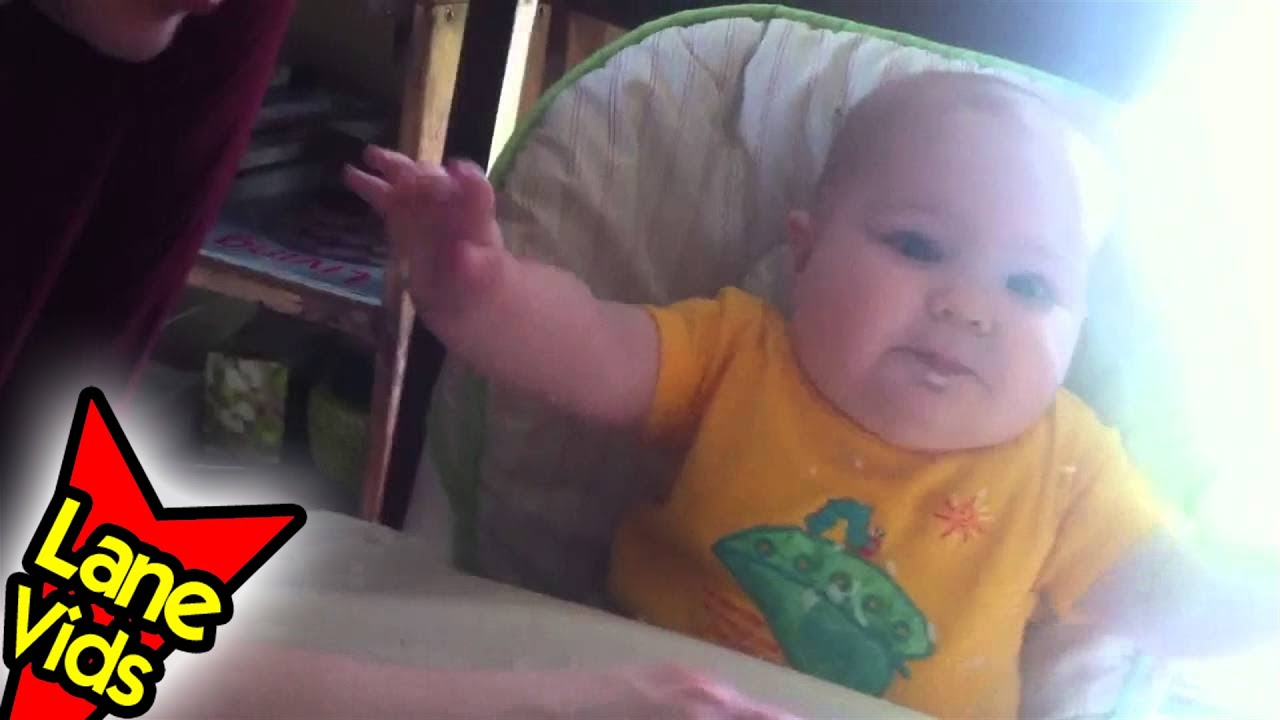 7 Month Old Eats Rice - Video 11 - Baby Led Weaning (BLW) - TheFunnyrats -  TheFunnyrats