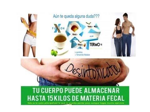 TERMO TE Y RGX1 - Productos FuXion para adelgazar y limpiar el colon