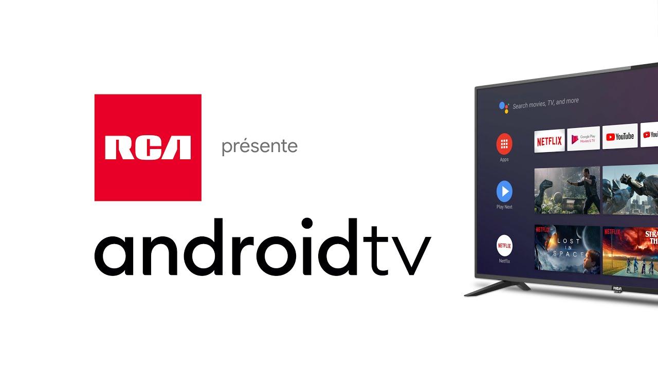 Nouveau téléviseur RCA 4K UHD Android TV en Europe