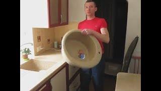 видео столешницы для кухни из искусственного камня