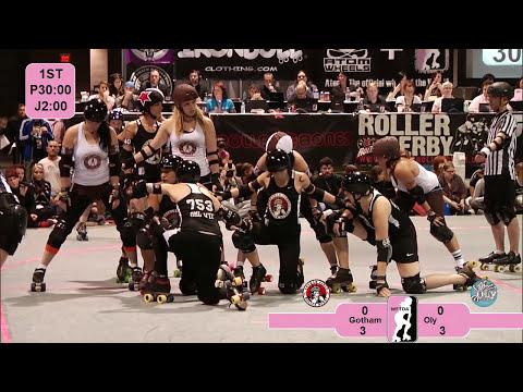 2012 WFTDA Championships: Oly Rollers v Gotham Girls Roller Derby
