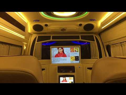 Toyota Hiace Limousine nâng tầm xe VIP