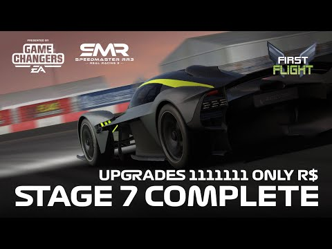 First Flight Stage 7 – Aston Martin Valkyrie R$ Upgrades – Earning 175 Gold..!!