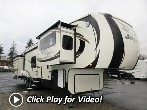 2016 Jayco North Point 383flfs Front Living Room Luxury Fifth Wheel Youtube