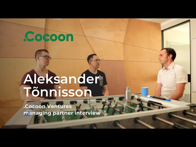.Cocoon Podcast #4 - Aleksander Tõnnisson - Trusting the Life