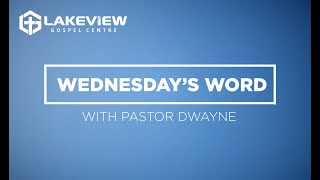Wednesdays Word // October 21 2020