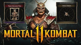 "MORTAL KOMBAT 11 - How To Unlock Shao Kahn ""Master of the Lower Mines"" Skin! (Timed Krypt Event)"