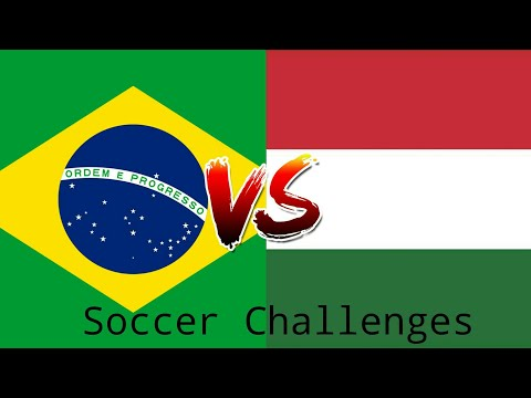 Brazilian guy x Hungarian guy |Soccer challenges