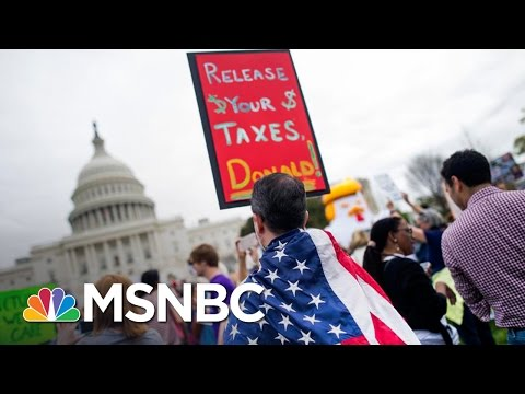 Thumbnail: The March To Get Donald Trump To Release His Tax Returns | All In | MSNBC
