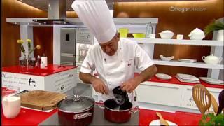 Karlos Arguiñano: Canelones De Carne Con Queso Fresco Y Espinacas