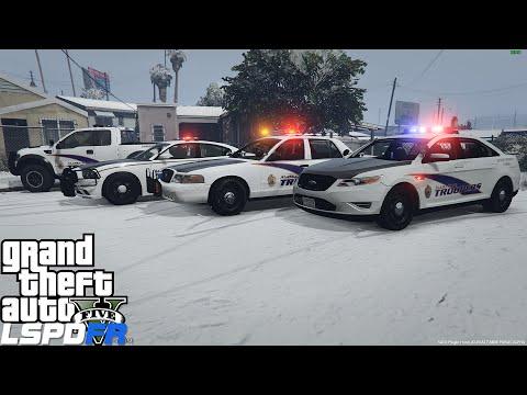 GTA 5 LSPDFR Police Mod 73 | Alaska State Trooper Patrol In The Snow | Meth Lab Bust Gone Wrong