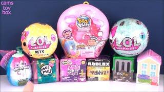 LOL Surprise Dolls Pets Pikmi Pops Doughmi Peppa Pig Roblox Moj Toy Reviews