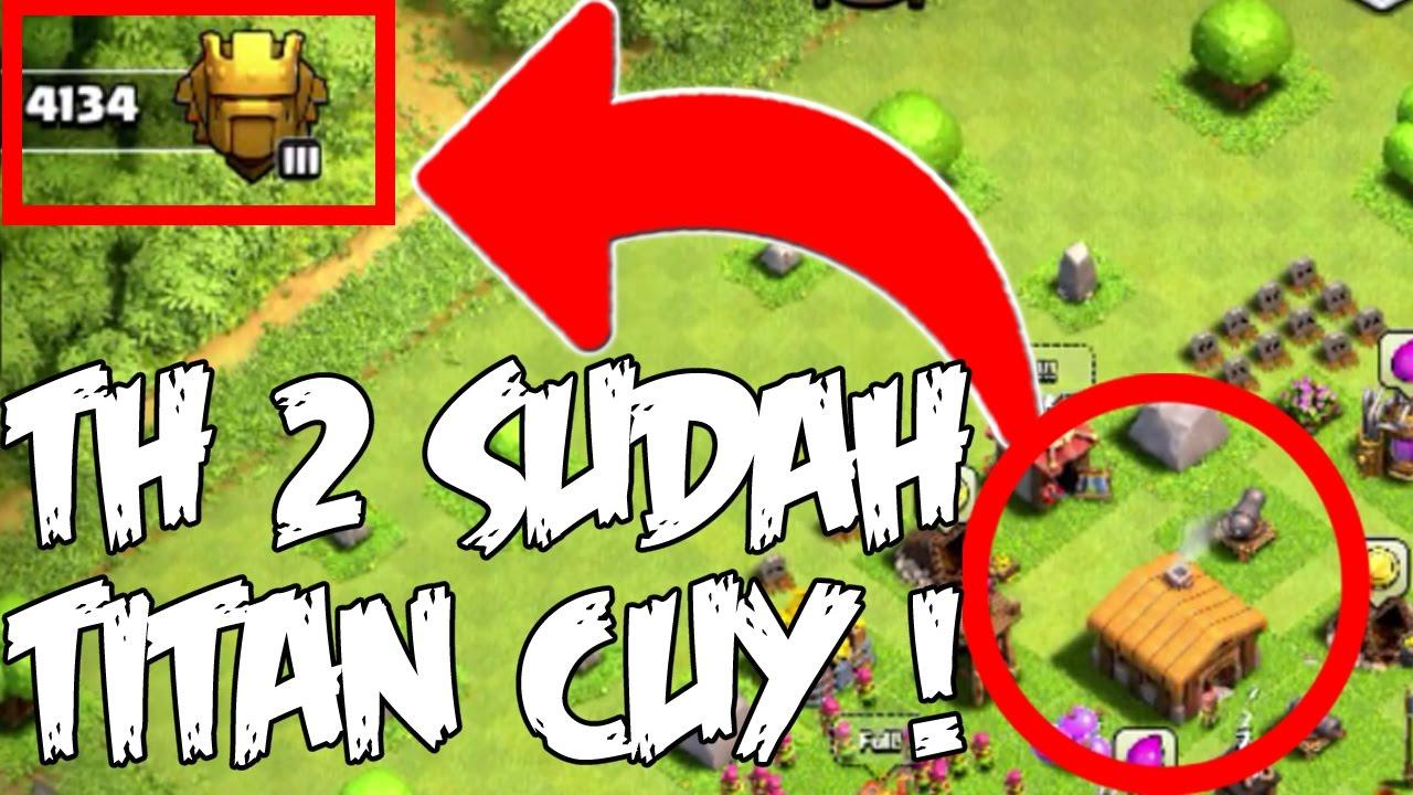 Akun COC Ini TH 2 Sudah Liga Titan Cuy Clash CLans Indonesia