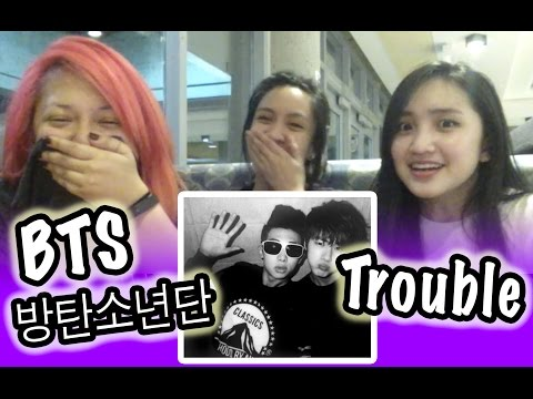 [KPOP REACTION] TROUBLE -- RAP MONSTER & JIN OF BTS (Bangtan Boys) -- 방탄소년단 (랩몬스터 & 진)