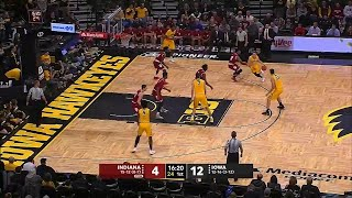 Iowa Hits First 10 Shots vs. Indiana