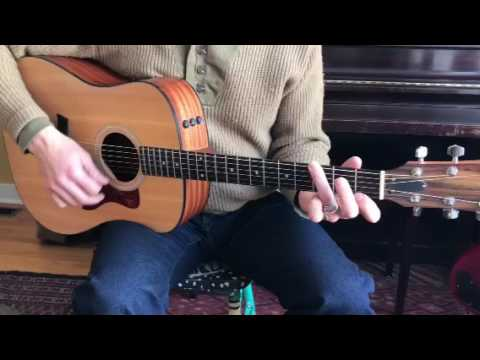 How to play Hungry Heart on guitar, part 'A'