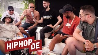 Nimo, Olexesh, Hanybal, Celo & Abdi: Viel Lob, etwas Beef & QVC-Action (Interview) - On Point Talk