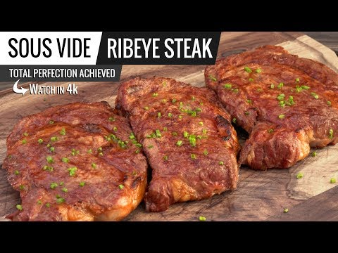 Sous Vide RIBEYE Steak - How to cook RIBEYE Sous Vide for Troy Cooks