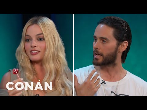 "Thumbnail: Jared Leto & Margot Robbie Got Shaved Down For ""Suicide Squad"" - CONAN on TBS"