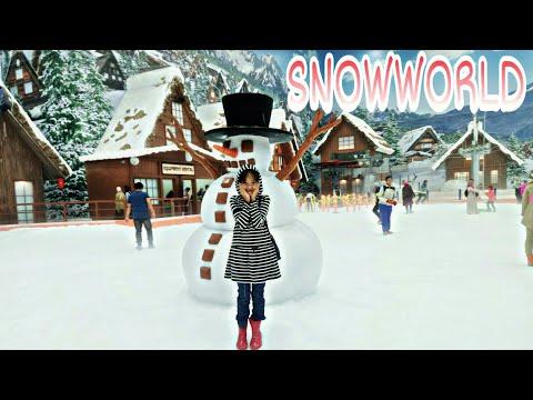 NAIFA MAIN DI SNOW WORLD BINTARO || BERAPA YA HARGA TIKETNYA..?