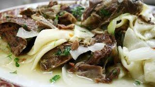 Бешбармак домашний рецепт с говядиной