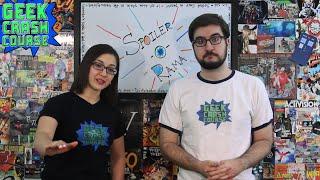 Spoiler-O-Rama - Another Vlog Celebrating 3 Years of Geek Crash Course!