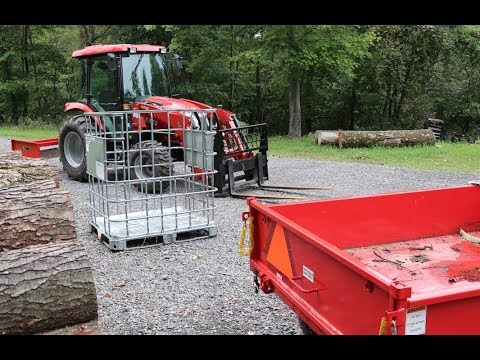 #244 FIREWOOD STORAGE & TRANSPORTATION SOLUTIONS, How To IBC Totes