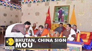 Bhutan, China sign memorandum of understanding   English News   WION