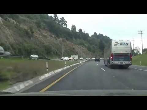 【Mexico Highway Drive】Toluca city to Mexico city  15D  Couta~Av.Observatorio