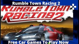 Rumble Town Racing 2 - Free Car Games To Play Now