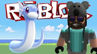 I CAUGHT A DRATINI!!!! | Pokémon Brick Bronze [#20] | ROBLOX