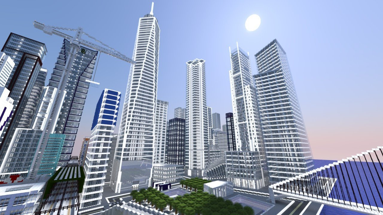 Minecraft Ps3 Edition New York City Map HD  YouTube