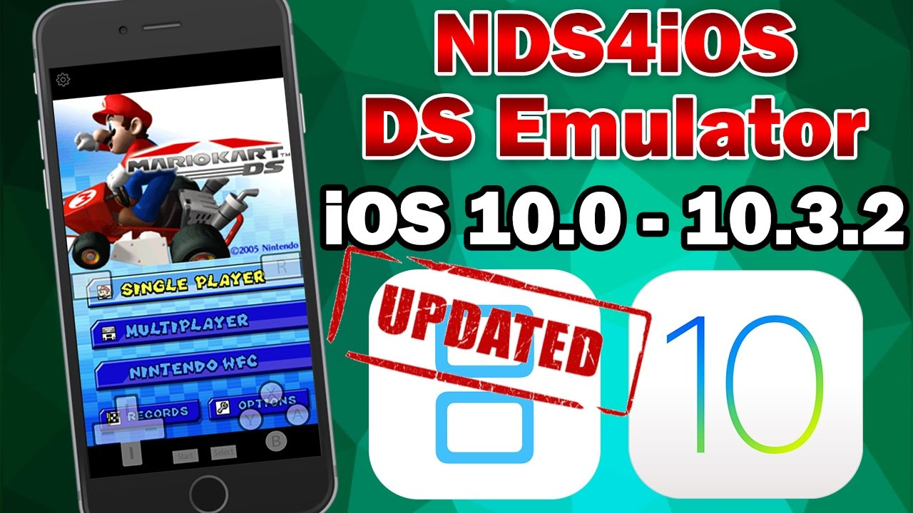 How To Install NDS4iOS Nintendo DS Emulator on iOS 10 0
