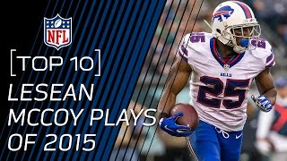 Top 10 LeSean McCoy Plays of 2015 | #TopTenTuesdays | NFL