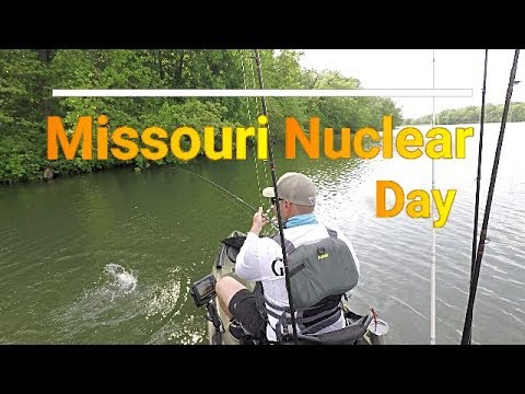 Missouri Kayak Fishing Nuclear Day