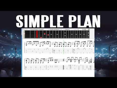 Simple Plan - Save you  guitar pro