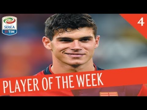 PLAYER OF THE WEEK - Giornata 4 - Serie A TIM 20117/18