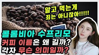 커피 상식 [콜롬비아 수프리모 ㅣ 중남미 커피 이야기]
