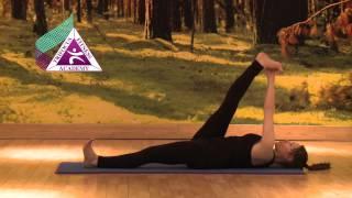Yoga - Supta Padangusthasana (Reclining Big Toe Pose)
