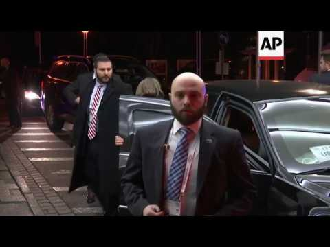 US Secretary of State Tillerson arrives in Bonn