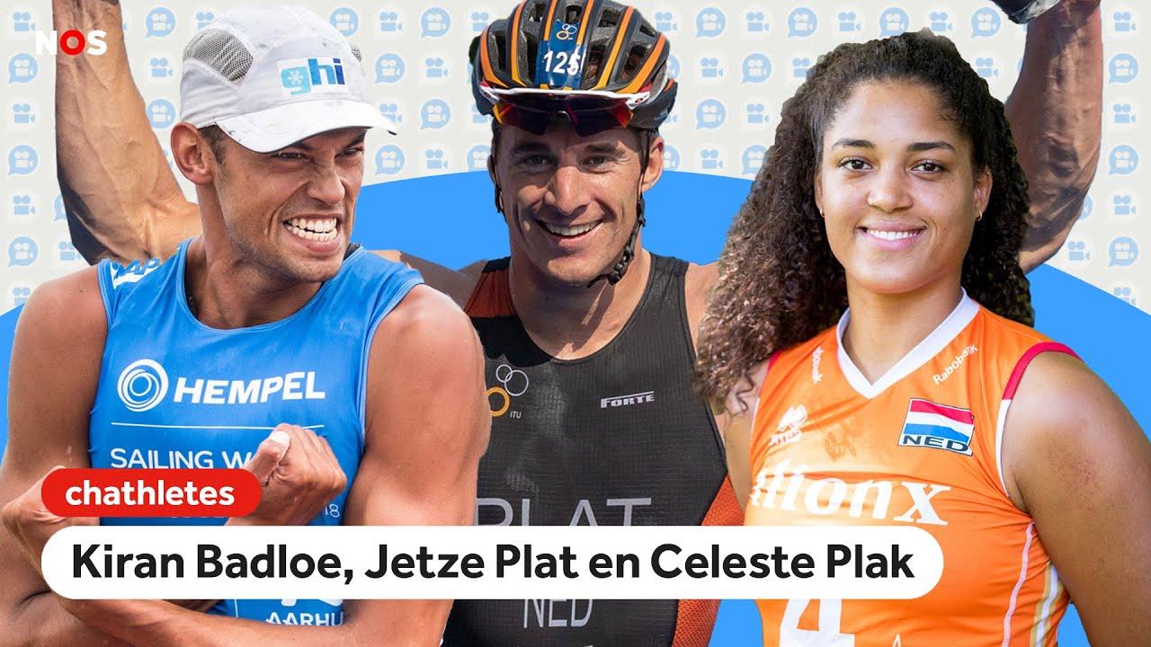 Waarom neemt Celeste Plak even pauze en welke series kijkt Kiran Badloe? | Chathletes #3 | NOS Sport