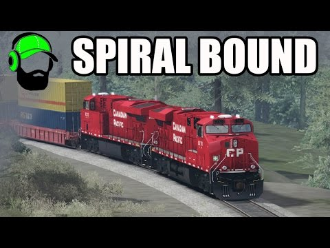 Train Simulator 2017 - Spiral Bound - Canadian Mountain Passes
